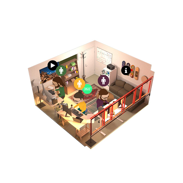 augmented-reality-studio-office-interactive